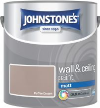 Johnstones Coffee Cream Coloured Emulsion
